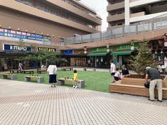 鹿島田駅前のルリエ新川崎「みんなの憩いの場」がリニューアルの画像